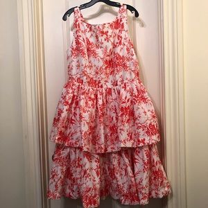 J Peterman 50's Dinner Party Dress